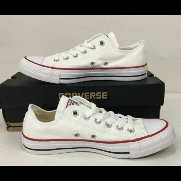 632b12ebaa67 Converse White Classic all star low top